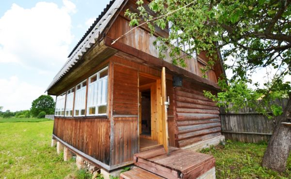 Участок с баней на 30 сотках в д.Кашилово (500м до р.Руза)
